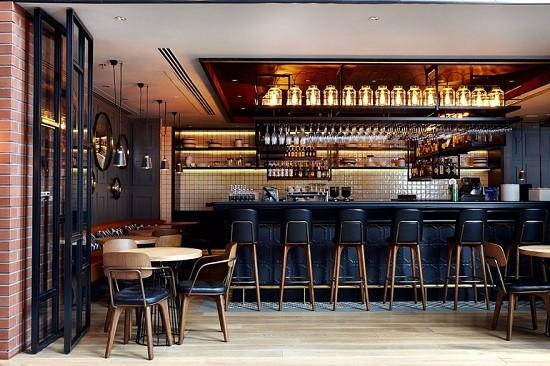Ghế bar quán cafe hiện đại