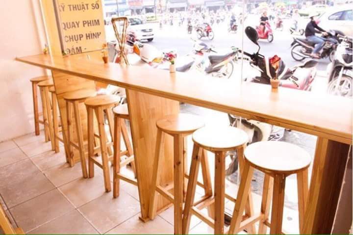 Ghế bar gỗ