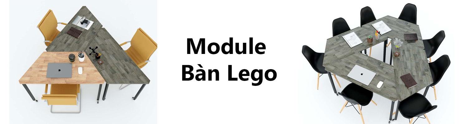 Hệ bàn văn phòng lắp ghép Lego
