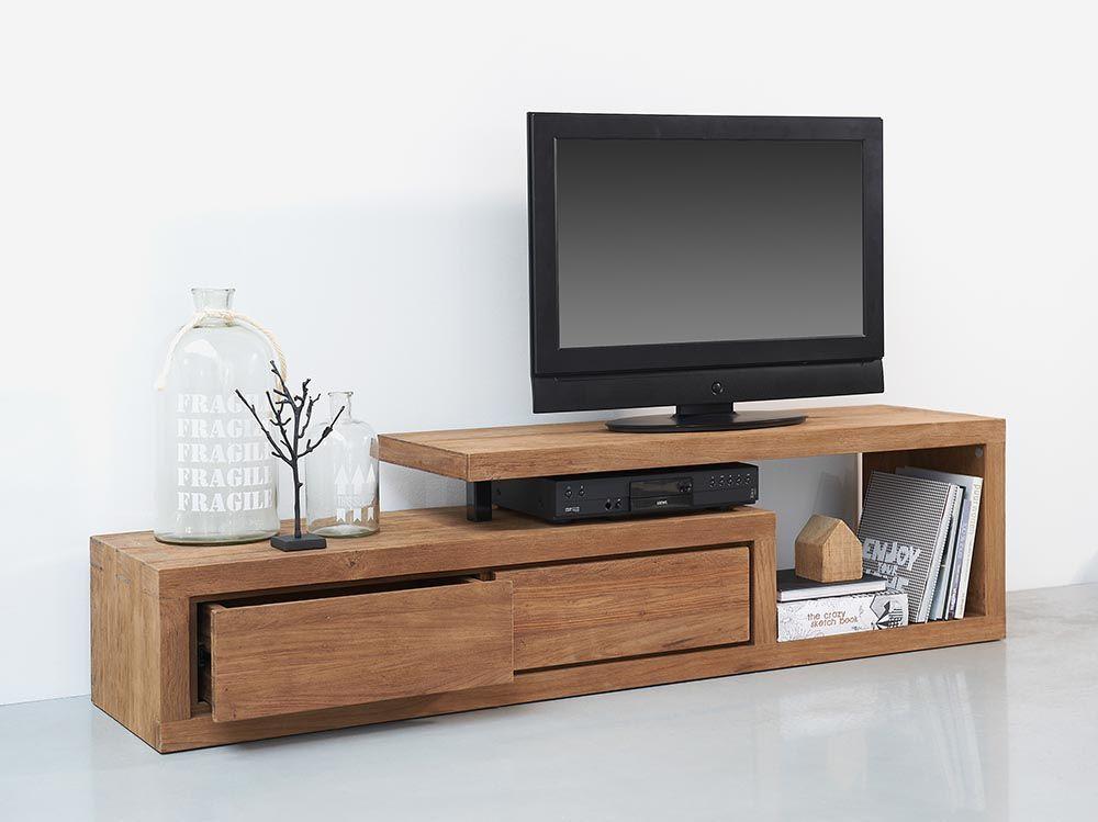 Kệ tivi gỗ đơn giản