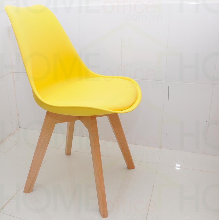 ghế bàn cao có đệm màu vang