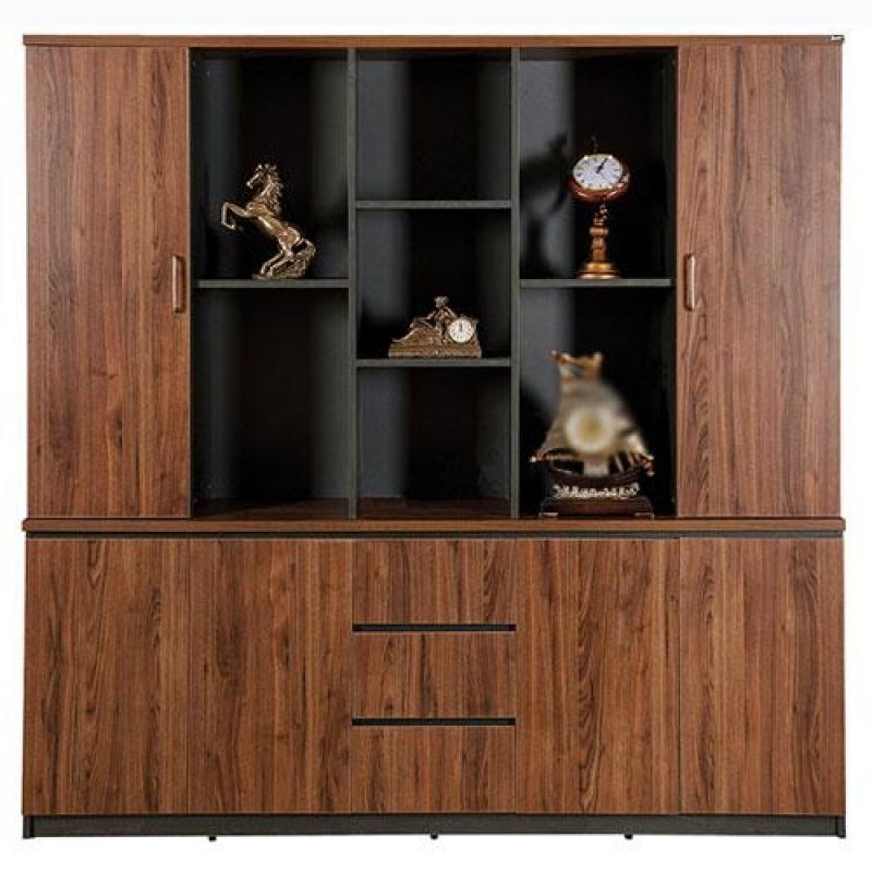 Tủ tài liệu, tủ hồ sơ phòng gíam đốc màu gỗ tự nhiên