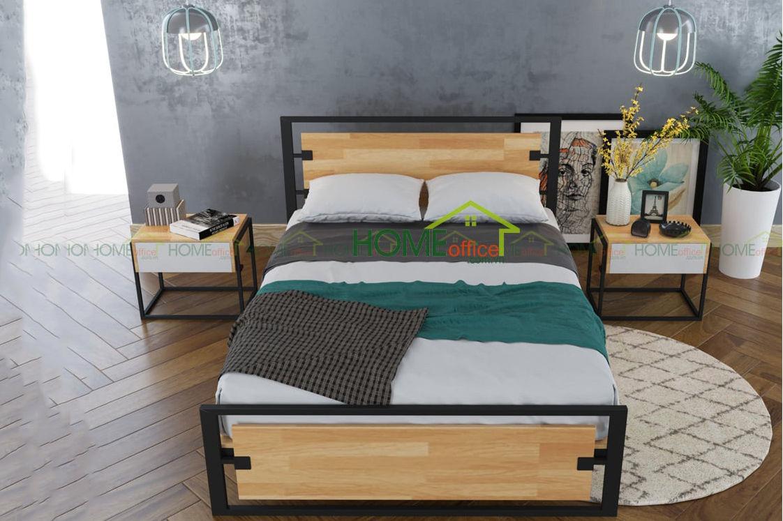 mẫu giường ngủ gỗ
