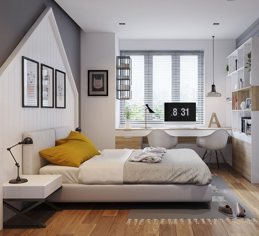 phòng ngủ đẹp đơn giản