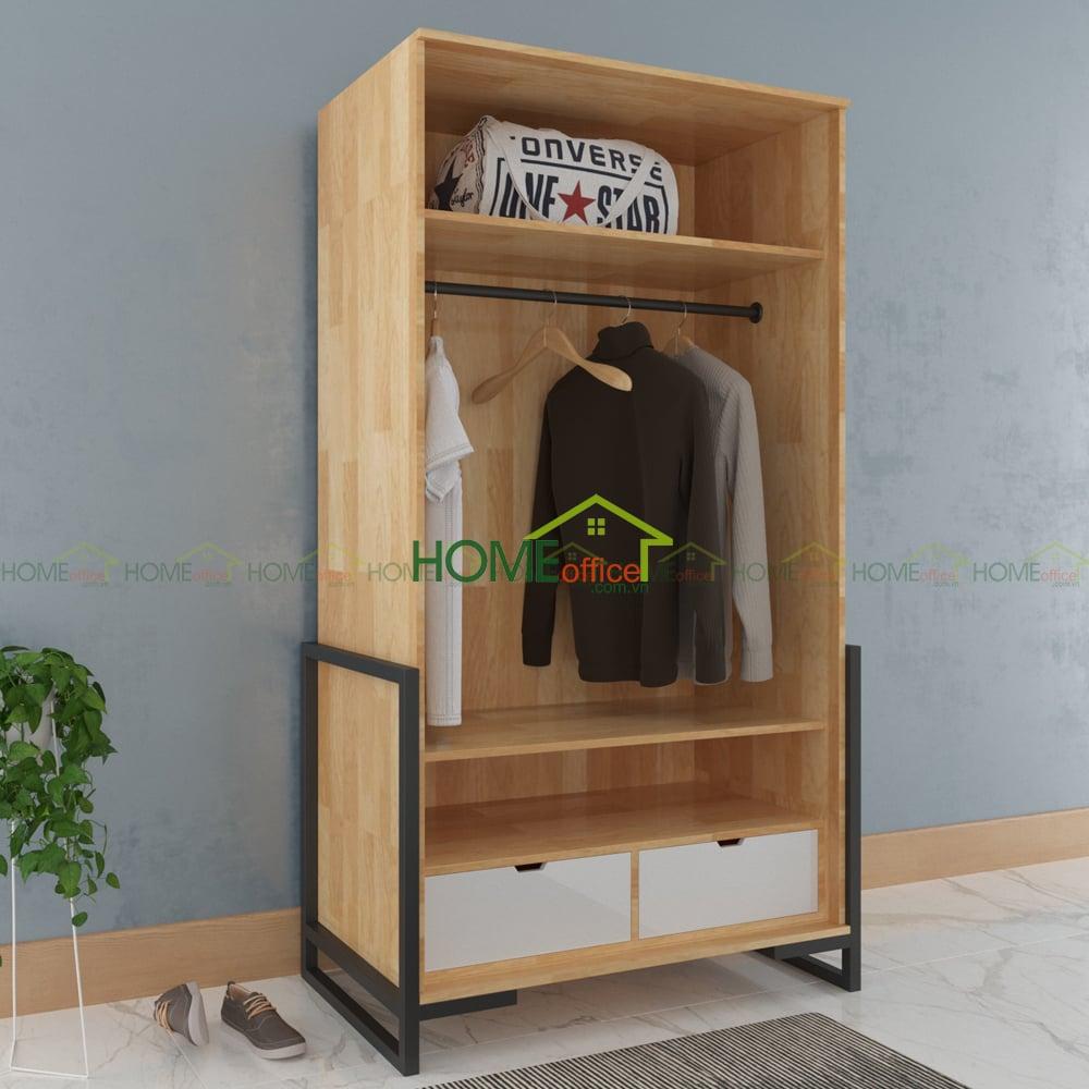 tủ quần áo gỗ tụ nhiên