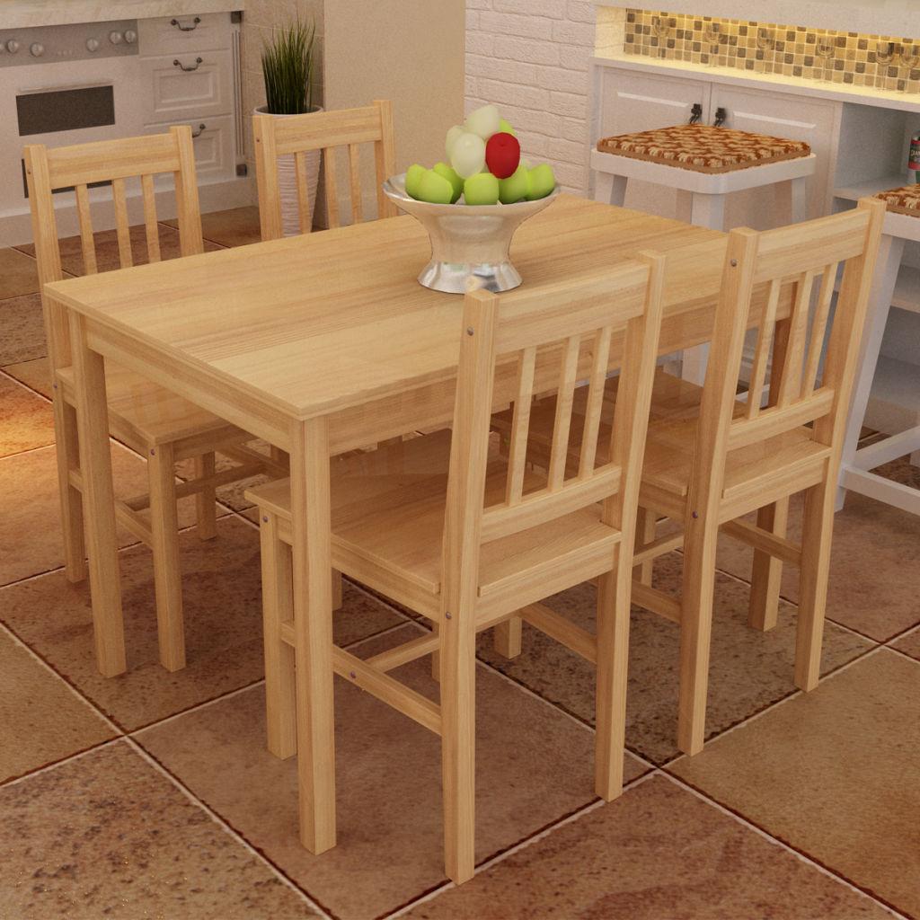 bàn ăn gỗ tre ghép thanh