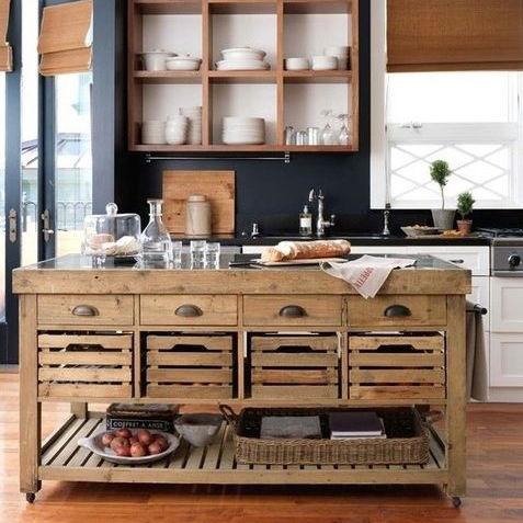 kệ bếp gỗ đẹp