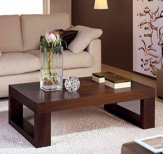 bàn trà gỗ thông