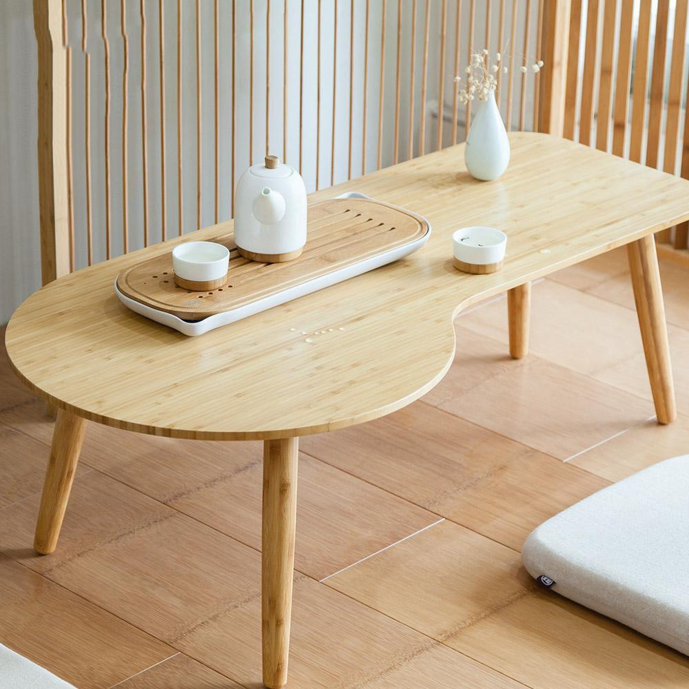 bàn trà gỗ tre