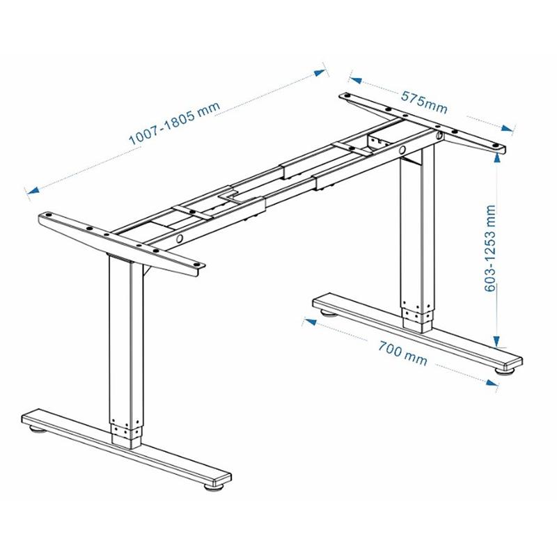 Chân bàn điện nâng hạ 3 khớp - HONT33-2AR3