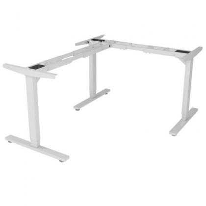 Chân bàn nâng hạ điện chữ L 3 khớp 3 chân trụ - HONT33-3AR3
