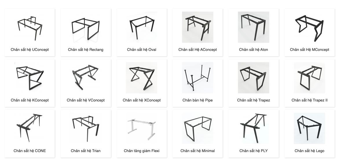 15 concept chân bàn