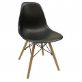 GBC68002 - Ghế bàn cao lưng nhựa màu đen