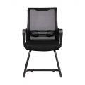 HOCQ68004 - Ghế chân quỳ phòng họp lưng lưới, nệm màu đen