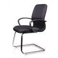 HOCQ68010 - Ghế chân quỳ phòng họp màu đen sang trọng
