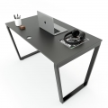 HBTC004 - Bàn làm việc 120x70cm Trapeze Concept lắp ráp