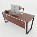 HBTC017 - Bàn chữ L 160x140 Trapeze Concept lắp ráp
