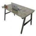 HBAC004 - Bàn làm việc 120x70cm AConcept chân sắt lắp ráp