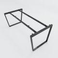 HCTC009 - Chân bàn sắt hệ Trapez Concept 180x90 lắp ráp