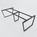 HCTC011 - Chân bàn sắt hệ Trapez Concept 240x120 lắp ráp