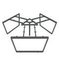 HCTC023 - Chân bàn cụm 3 hệ Trapeze Concept 236x205cm lắp ráp
