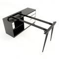 HCCO021 - Chân bàn gác tủ hệ CONE Concept 140x70 lắp ráp