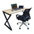 CB68040- Combo bàn Xconcept và ghế xoay lưng thấp