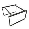 HCRT012- Chân sắt bàn cụm 2 hệ Rectang 120x120cm lắp ráp