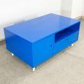 TT68092 -  Bàn trà gỗ cao su màu xanh 100x60x46(cm)