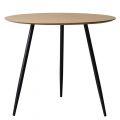 CFD68065 - Bàn cafe tròn 80x80x75cm chân sắt sơn tĩnh điện