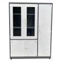 Tủ hồ sơ sắt, tủ tài liệu kết hợp tủ treo đồ 5 cánh TLSP007
