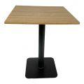 Bàn cafe vuông 60cm gỗ Plywood chân sắt sơn tĩnh điện CFD68078