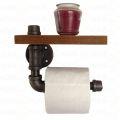 PP68002 - Giá treo giấy vệ sinh ống nước