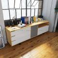 KTB68025 - Tủ trưng bày phòng khách 3 ngăn hiện đại - 220x50x60 (cm)
