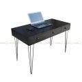 BD68042 - Bàn làm việc Bookdesk 3 ngăn kéo màu đen - 120x60x75 (cm)