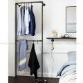 GQA68020 - Giá treo quần áo ống nước 005 - 120x30x210 (cm)