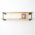KTT68013 - Kệ treo tường ống nước 2 tầng - 80x30x40 (cm)