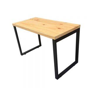 SPD68110 - Bàn làm việc đơn giản gỗ thông chân lắp ráp - 120x60x75 (cm)