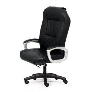 HOM1034-02 - Ghế xoay giám đốc lưng cao màu đen