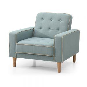 Ghế sofa đơn vuông bọc vải nhiều màu GSD68008