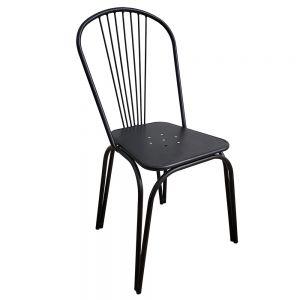 GBC68031  - Ghế cafe lưng tựa bằng sắt sơn tĩnh điện