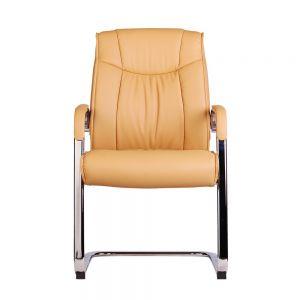 HOCQ68005 - Ghế chân quỳ phòng họp bọc PU màu nâu cà phê