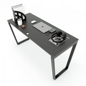 HBTC003 - Bàn làm việc 140x60 Trapeze Concept lắp ráp