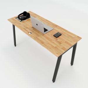 HBAT003 - Bàn làm việc 140x60 Aton Concept chân sắt lắp ráp