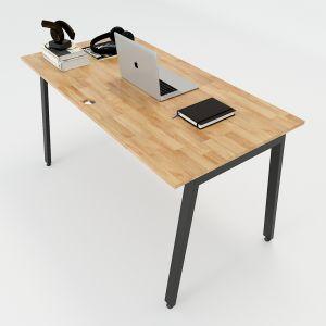 HBAT005 - Bàn làm việc 140x70 Aton Concept chân sắt lắp ráp