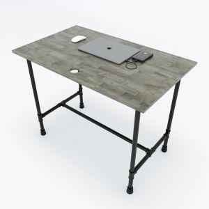 HBON001 - Bàn làm việc 100x60cm hệ Pipe Concept