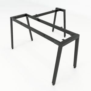 HCAT014 - Chân bàn chữ L hệ Aton Concept 140x140 lắp ráp