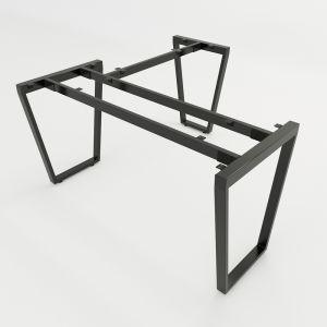 HCTC015 - Chân bàn chữ L hệ Trapez Concept 140x140 lắp ráp