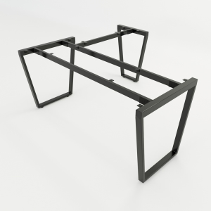 HCTC017 - Chân bàn chữ L hệ Trapez Concept 160x140 lắp ráp