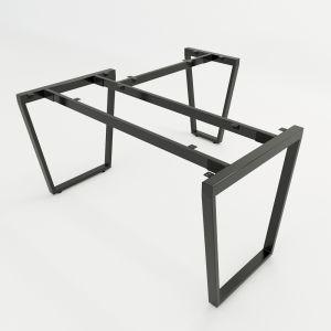 HCTC016 - Chân bàn chữ L hệ Trapez Concept 140x150 lắp ráp